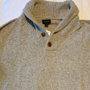 J Crew Men's Shawl Collar Sweater - New - Large